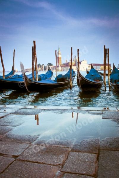 Gondolas - Piazza San Marco - Venice