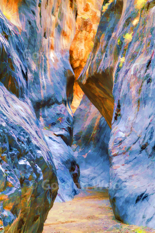 Rock Walls in Marble Canyon